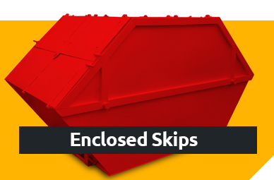 Enclosed Skips - Samson Containers