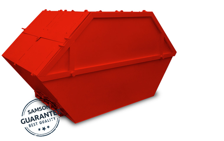 Enclosed Skips from 4 to 16 cubic yard